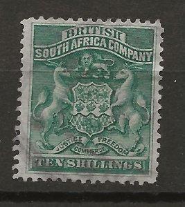 Rhodesia 15 Used VF 1890 SCV $110.00 (jr)