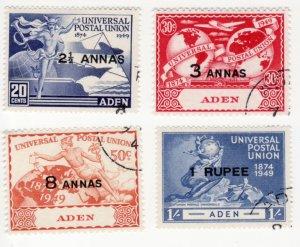 Aden #32-5 Used, CV $7.80   .....  0020034