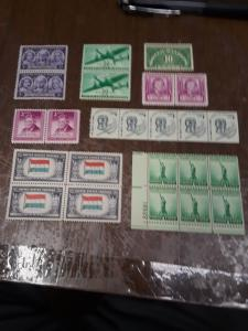 USA Mint NEVER hinged Lot 8