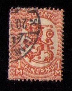 FINLAND Sc 102 Used Org F-VF