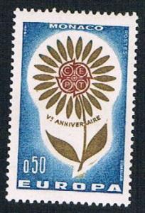 Monaco 591 MLH Europa Issue 1964 (BP1132)