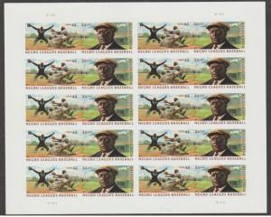 U.S. Scott #4465-4466 Negro Leagues Stamps - LL Plate Position - Mint NH Sheet
