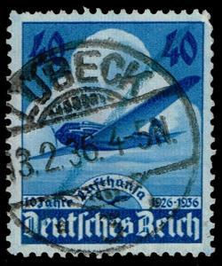 Germany #469 Airplane; Used (3.25)