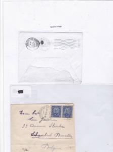 Brazil 1920 stamp cover ref 9214