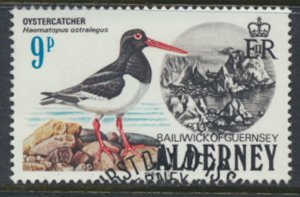 Alderney  SG A13  SC#  13   Birds Used First Day Cancel - as per scan