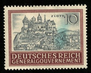 Reich, 10 Zloty, Generalgouvernement (T-6293)