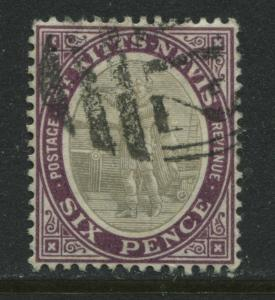 St. Kitts 1903 6d used