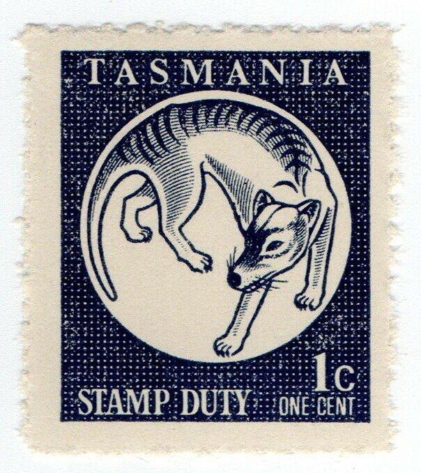 (I.B) Australia - Tasmania Revenue : Stamp Duty 1c