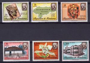 Honduras 1978 Sc#C636/C641 Botanica Luis Landa/ORCHID Set (6) MNH