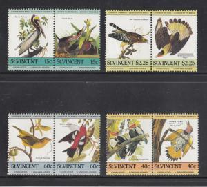 St Vincent Scott #807-810 MNH