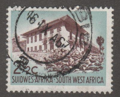 South West Africa (Namibia) 270 Administrator's Residence 1961