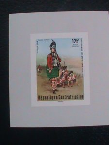 CENTRAL AFRICAN STAMP:1976-SC#C144 BI-CENTENARY OF AMERICAN REVOLUTION S/S #1