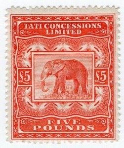 (I.B) Bechuanaland Revenue : Tati Concessions £5