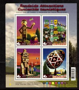 Canada Roadside Attractions...S/S..mnh...#2