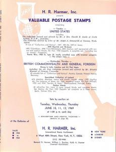 HR Harmer: Sale # 1902-1904  -  Valuable Postage Stamps: ...