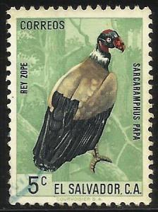 El Salvador 1963 Scott# 741 Used