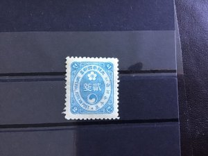 Korea 1900 mounted mint  stamp R29880