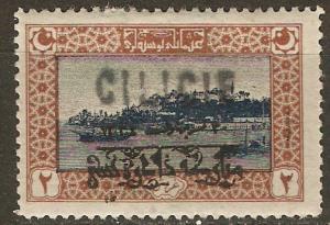 Cilicia 20 Cer 25 MLH VF 1919 SCV 40.00