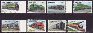 D5-Trains-Locomotives-Tanzania-Scott#478-85-unused NH set-19