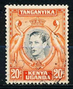 Kenya Uganda & Tanzania #74c Single Used