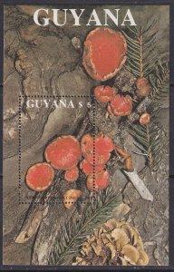 Guyana (1989) #2011 MNH; Mushrooms