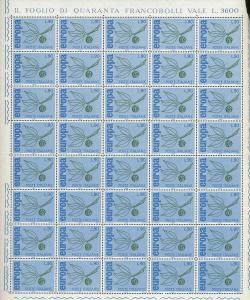 ITALY Europa Aviation Sheets MNH x 6 (Ref DD622