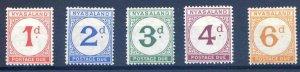 Nyasaland SGD1/5 Mounted Mint
