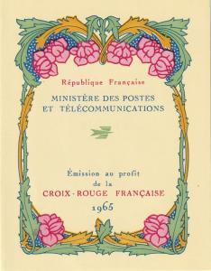 France #B392a Red Cross Booklet  CV $2.75 Z45
