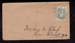 Confederate States Of America #11 VF Used On Cover
