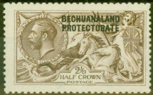 Bechuanaland 1916 2s6d Pale Brown SG85 D.L.R Fine Very Lightly Mtd Mint