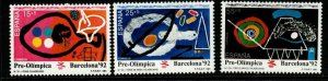SPAIN SG3123/5 1991 OLYMPIC GAMES MNH