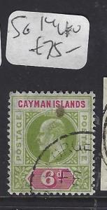 CAYMAN ISLANDS (P1111B)   KE     6 D  SG 14   VFU