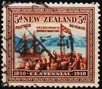 New Zealand. 1940 5d S.G.620 Fine Used
