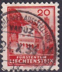 Liechtenstein #120 F-VF Used  (S10027)
