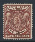 British East Africa Company  SG 67  SC#75  Mint Hinged -  see details