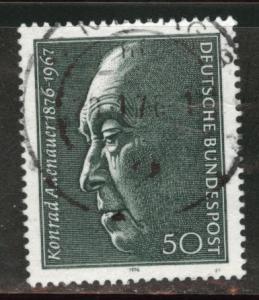 Germany Scott 1205 Used 1976 stamp