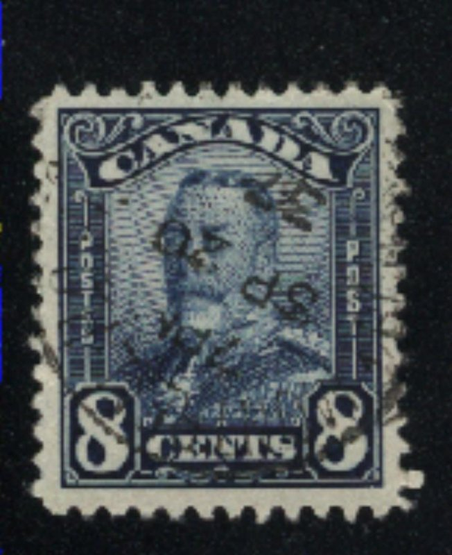 Canada #154   -1   used   VF  PD