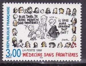 France 1998 3.fr. Doctors Without Borders.. Medicine  VF/NH