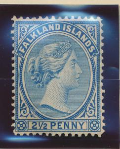 Falkland Islands Stamp Scott #15, Mint Hinged - Free U.S. Shipping, Free Worl...