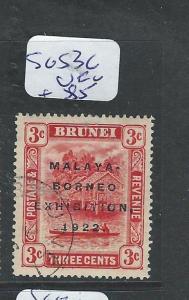 BRUNEI (PP1701B) 3C  MBE SG 53C  VFU
