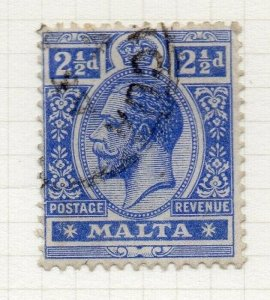 Malta 1914-22 Early Issue Fine Used 2.5d. 321509