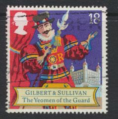 Great Britain SG 1624   Used  - Opera Arthur Sullivan