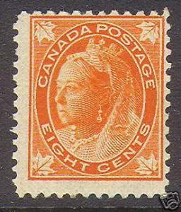 Canada #72 NH Mint