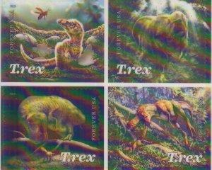 2019 USA Tyrannosaurus Rex B4 SA  (Scott NA) MNH