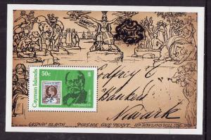Cayman Is.-Sc#429-Unused NH sheet-Stamp on Stamp-1979-