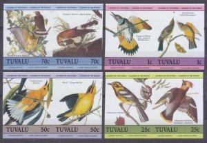 1985 Tuvalu 276-283bPaar Birds 15,00 €