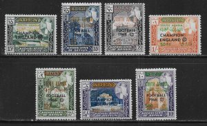 South Arabia Seiyun Michel 77-83 1966 World Cup Soccer MNH c.v. 24 Euro