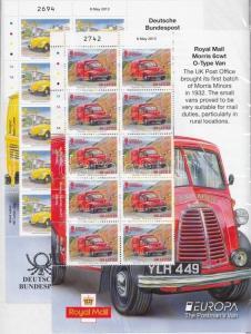 Great Britain - Guernsey stamp Europa CEPT MNH 20113 Mi 1419-1420 WS138680