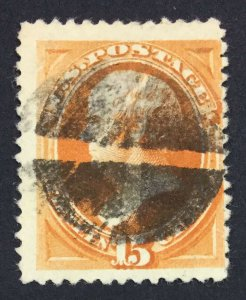 MOMEN: US STAMPS #189 USED LOT #44432
