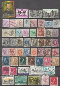 COLLECTION LOT # 13L BELGIUM 88 STAMPS CLEARANCE